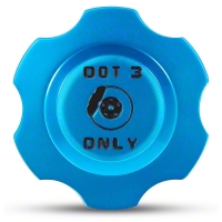 Modern Billet Anodized Blue Brake Fluid Cap Cover (05-14 All) - Modern Billet UDU-05-BRK-BL