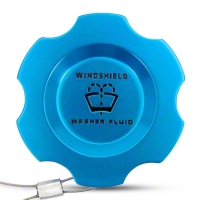 Anodized Blue Washer Fluid Cap (05-09 All) - Modern Billet UDU-05-WAS-BL
