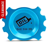 Modern Billet Anodized Blue Oil Cap (05-10 V6) - Modern Billet UDU-05-OIL-V6-BL