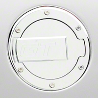 MMD Chrome Billet Aluminum Fuel Door- GT Logo (94-04 All)