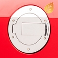MMD Chrome Billet Aluminum Fuel Door (05-09 All)