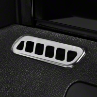 Chrome Door Vent Louvers (10-14 All)