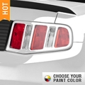 MMD Tail Light Trim Bezels - Pre-Painted (10-12 All)