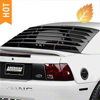 MMD Rear Window Louvers - ABS (94-04 All) - MMD 41301