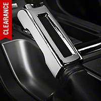 Modern Billet Chrome E-Brake Handle Cover (10-14 Rubber, 10-12 Leather) - Modern Billet 41304