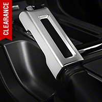 Modern Billet Satin E-Brake Handle Cover (10-14 Rubber, 10-12 Leather) - Modern Billet 41305