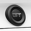 MMD Trunk Emblem Surround - Matte Black (10-12 All) - MMD 41309