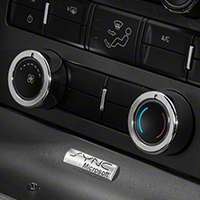Modern Billet Chrome HVAC Control Knob Covers (10-14 w/o NAV) - Modern Billet 41326