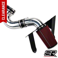 SR Performance Aluminum Cold Air Intake - Polished (05-09 GT) - SR Performance 41334