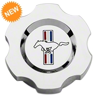 Modern Billet Chrome Brake Fluid Cap Cover - Tri-Bar Logo (05-14 GT, V6) - Modern Billet 41400