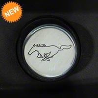 Modern Billet Polished Cigarette Lighter Delete - Running Pony Logo (79-04) - Modern Billet 41425