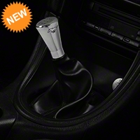 Modern Billet Polished Billet Shift Knob w/ Running Pony Logo (79-04 All) - Modern Billet 41439