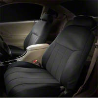 Caltrend NeoSupreme Front Seat Cover - Black (99-04 All)