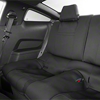 Caltrend NeoSupreme Rear Seat Cover - Black (10-14 All)