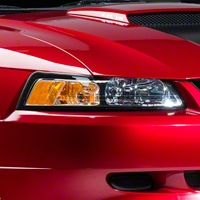 Chrome Headlights (99-04 All) - AM Lights 42011