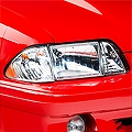 Ultra Clear Headlights (87-93 All) - AM Lights Fr361-12c