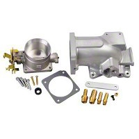 Trick Flow 75mm Throttle Body & Plenum Combo (96-04 GT) - Trick Flow TFS-K51824075