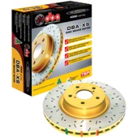 Cross-drilled/Slotted Rotors - Front Pair (05-10 GT) - None 42113XS||46114||KIT
