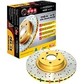 DBA Cross-drilled/Slotted Rotors - Rear Pair (05-12 GT, V6) - DBA USA 42114XS||46116||KIT
