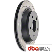 DBA T2 Street Series Slotted Rotors - Rear Pair (94-04 Bullitt, Mach 1, Cobra) - DBA DBA 102S