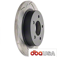 DBA T2 Street Series Slotted Rotors - Rear Pair (94-04 GT, V6) - DBA DBA 856S