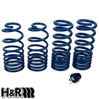 H&R Super Sport Springs - Coupe (96-04 GT, V6, Mach 1; 93-98 Cobra) - H&R 51652-77||51652-77