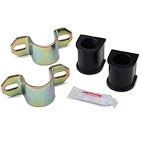 Prothane Front Sway Bar Bushings - 27mm w/ Brackets (85-93 All) - Prothane 191135BL