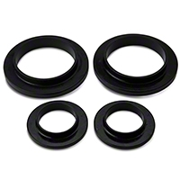 Prothane Spring Isolators - Rear (79-04 GT, V6, Mach 1; 93-98 Cobra) - Prothane 61701BL