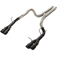 Magnaflow Competition Catback Exhaust w/ Black Quad Tips (13-14 GT500) - Magnaflow 15176