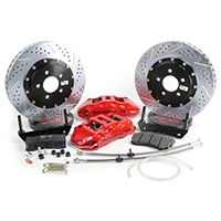 Baer Extreme Plus Front Brake Kit - Red (05-14 All) - Baer Brake Systems 4261064R