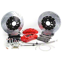 Baer Pro Plus Front Brake Kit - Red (05-14 All) - Baer Brakes 4261211R