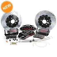 Baer Extreme Plus Front Brake Kit - Black (05-14 All) - Baer Brakes 4261064B