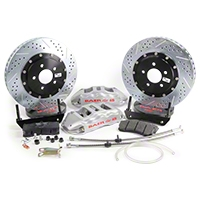 Baer Extreme Plus Front Brake Kit - Silver (05-14 All) - Baer 4261064S