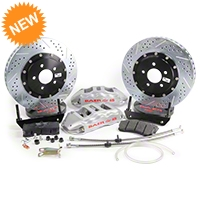 Baer Extreme Plus Front Brake Kit - Silver (05-14 All) - Baer Brake Systems 4261064S