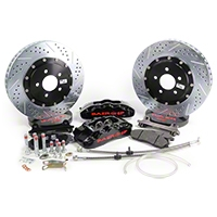 Baer Pro Plus Front Brake Kit - Black (05-14 All) - Baer 4261211B