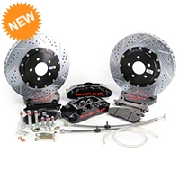 Baer Pro Plus Front Brake Kit - Black (05-14 All) - Baer Brake Systems 4261211B