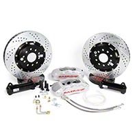 Baer Pro Plus Front Brake Kit - Silver (05-14 All) - Baer 4261211S