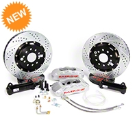 Baer Pro Plus Front Brake Kit - Silver (05-14 All) - Baer Brake Systems 4261211S