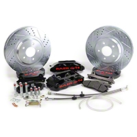 Baer Track-4 Front Brake Kit - Black (94-04 All) - Baer 4261276B