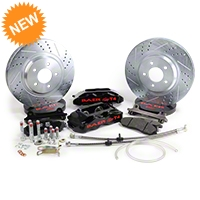 Baer Track-4 Front Brake Kit - Black (94-04 All) - Baer Brake Systems 4261276B