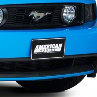 American Muscle License Plate - Black - AM Exterior AM-Plate-Black