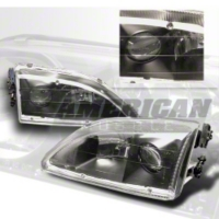 Mustang Projector Headlights with Black Housing (94-98)