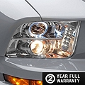 Raxiom Chrome Projector Headlights - CCFL Halo (05-09 GT, V6) - Raxiom 49006
