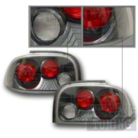 Mustang Carbon Fiber Dual Light Taillights (96-98)