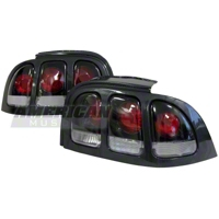 Mustang 3-Light Carbon Fiber Taillight (96-98)