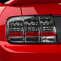 Smoked LED Tail Lights (05-09 All) - AM Lights 49030