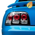 Chrome Euro Tail Lights (96-98 All) - AM Lights LTMST94KS
