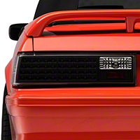 Black LED Tail Lights (87-93 All) - AM Lights ALT-ON-FM87-LED-BK