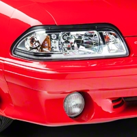 Chrome One-Piece Headlights (87-93 All) - AM Lights HD-YD-FM87-1PC-LED-C