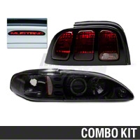 Smoked Projector Headlight and Tail Light Kit (96-98 All)